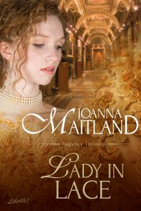 Cover of Lady In Lace by Joanna Maitland