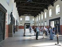 Saalburg Roman drill hall reconstruction