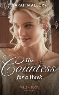 Cover of His Countess for a week by Sarah Mallory