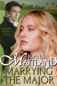 Marrying the Major by Joanna Maitland