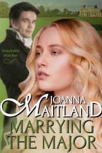 Marrying the Major by Joanna Maitland