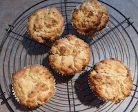 baked mincemeat muffins by Joanna