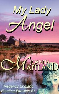 cover of My Lady Angel by Joanna Maitland