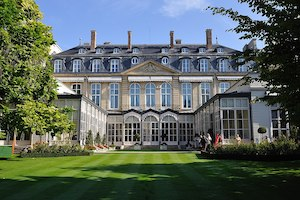 Garden, British Ambassador's Residence, Paris